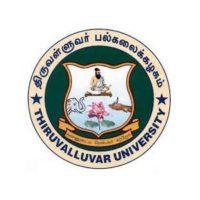 Thiruvalluvar University Recruitment 2020