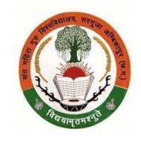 Sant Gahira Guru University Admit Card 2021