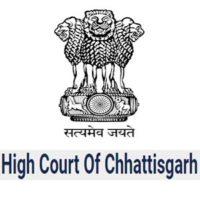 CG High Court Bilaspur vacancy