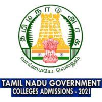 TNGASA admission 2021