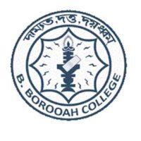 B Borooah College Merit List 2021